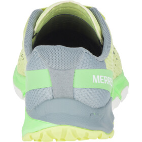 Merrell Bare Access Flex 2 E-Mesh Shoes Dame sunny lime